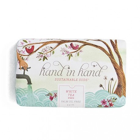 Hand in hand - Saponetta al Tè Bianco