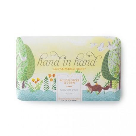 Hand in hand - Saponetta ai Fiori Selvatci e Felce