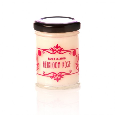 Rosy Rings Candles - Cottage Garden - Heirloom Rose
