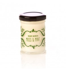 Rosy Rings Candles - Cottage Garden - Moss & Mint