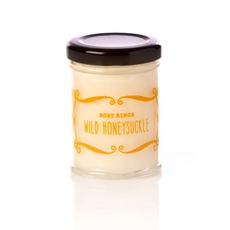 Rosy Rings Candles - Cottage Garden - Wild Honeysuckle