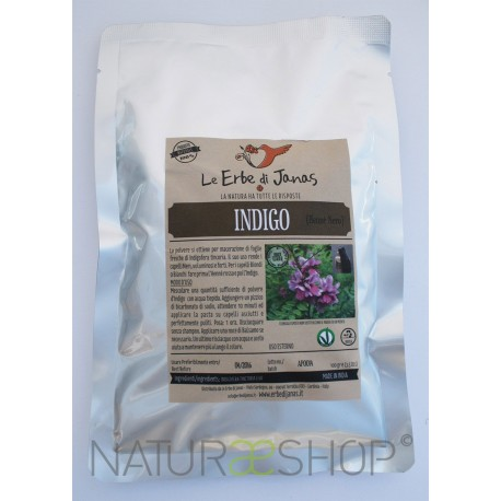 Erbe di Janas - Tinta Naturale - Hénné nero (indigo)