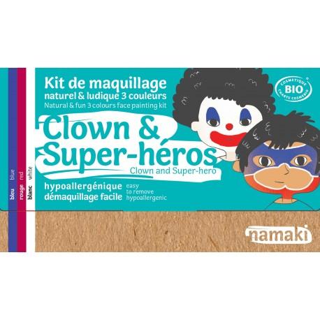Namaki - Trucco per bambini - Clown e Super Eroe