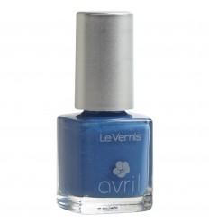 Avril Smalto Bleu Azur Irisé - Azzurro Iridescente.
